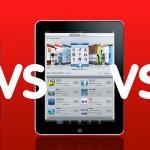 iPad vs Galaxy tablet